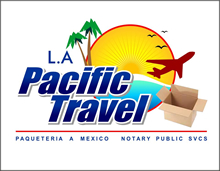 L.A Pacific Travel - Paqueteria Los Angeles a México